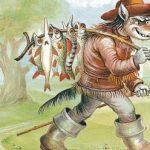 Корова Братца Кролика - Харрис Д.Ч. Сказка как Кролик обхитрил Волка.