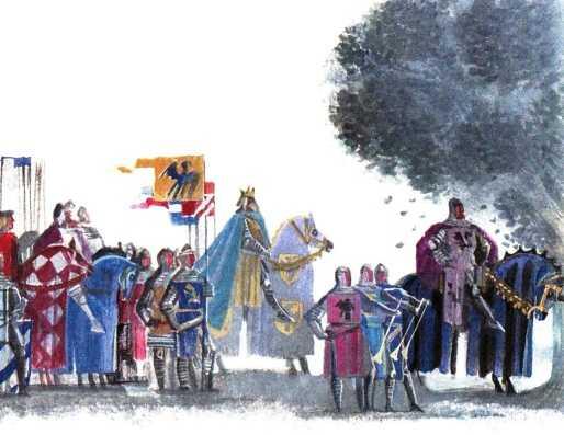 Лоэнгрин - немецкая народная сказка