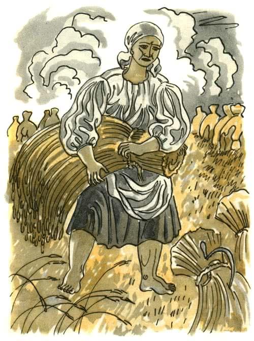 Лёгкий хлеб - белорусская народная сказка
