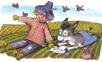 Мафин и огородное пугало — Хогарт Энн. Как ослик ходил на ферму. 0 (0)