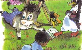 Мафин ищет клад — Хогарт Энн. Сказка как ослик Мафин нашел план клада.