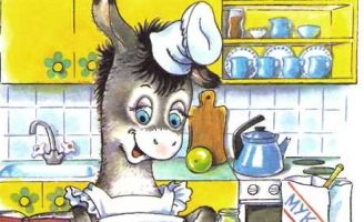 Мафин печёт пирог — Хогарт Энн. Сказка про неудачный пирог ослика. 5 (5)