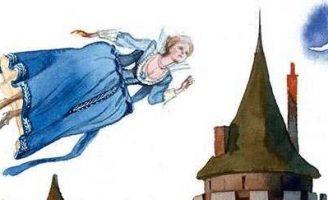Моховушка — английская сказка. Сказка про девушку и ее возлюбленного.