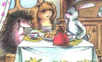 Может, откроем глаза? — Козлов С.Г. Сказка про Зайца и его друзей.