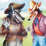 Неудача Братца Волка - Харрис Д.Ч. Как Лис и Волк ловили Кролика.
