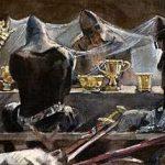 Пещера короля Артура - английская сказка. Сказка про юношу и сокровища