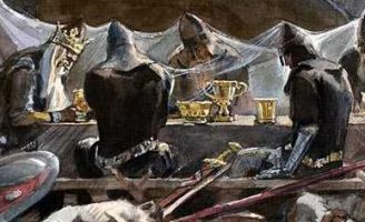 Пещера короля Артура — английская сказка. Сказка про юношу и сокровища 0 (0)