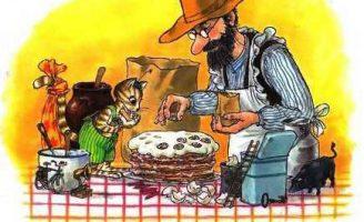 Петсон и Финдус: Именинный пирог — Нурдквист С. Сказка про Петсона.