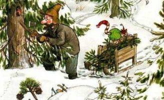 Петсон и Финдус: Рождество в домике Петсона — Нурдквист С.