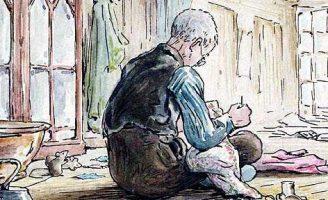 Портной из Глостера — Поттер Б. Сказка про портного и мышей.