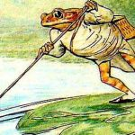 Повесть про мистера Джереми Фишера - Поттер Б. Сказка про лягушонка.