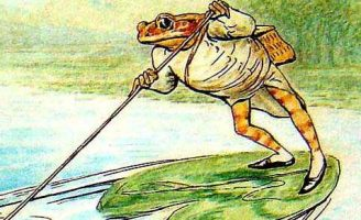 Повесть про мистера Джереми Фишера — Поттер Б. Сказка про лягушонка.