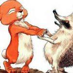 Про Ёжика и Кролика: А ну-ка, вспоминай - Стюарт П. и Риддел К. Сказка.