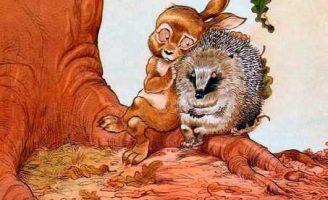 Про Ёжика и Кролика Кусочек зимы — Стюарт П. и Риддел К.