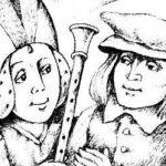 Серебряная дудочка Маккримонса - шотландская сказка.