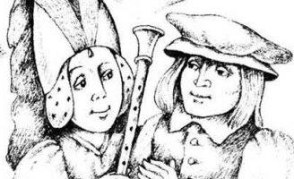 Серебряная дудочка Маккримонса — шотландская сказка.