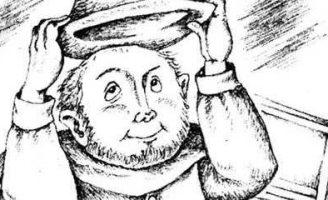 Синяя шапочка — шотландская сказка. Сказка о приключениях рыбака.