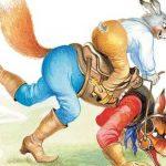 Сказка про лошадь Братца Кролика - Харрис Д.Ч. Как Кролик на Лисе ехал.