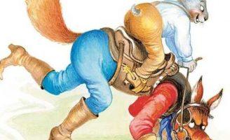 Сказка про лошадь Братца Кролика — Харрис Д.Ч. Как Кролик на Лисе ехал.