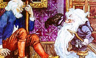 Сказка про старого гнома — Топелиус З. Сказка про гнома и сторожа замка.