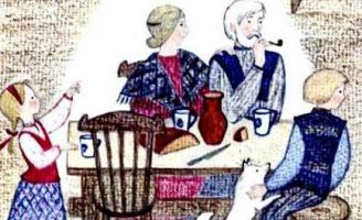 Три ржаных колоска — Топелиус З. Сказка о богатом и бедном крестьянине.