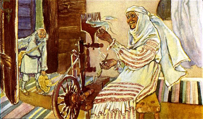 Вихревые подарки - белорусская народная сказка