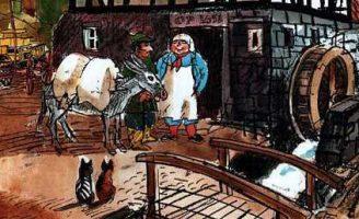 Водошлёп и Когтезверь — Пройслер О. Сказка про мельника и чудище.