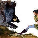 Юный Поллард и окландский вепрь - английская сказка.