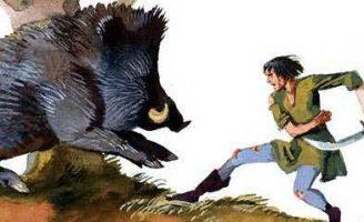 Юный Поллард и окландский вепрь — английская сказка.