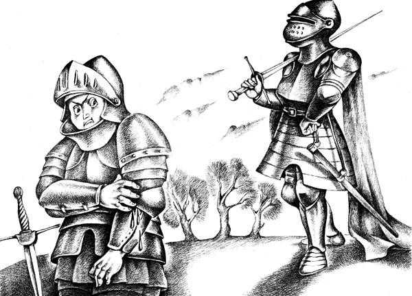 Черный Родерик (легенда) - шотландская сказка