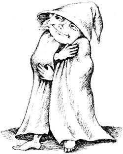 Домовой из Хилтона - английская сказка