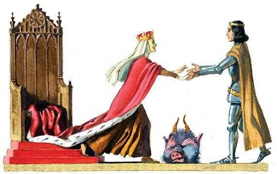 Джек-гроза великанов - английская сказка