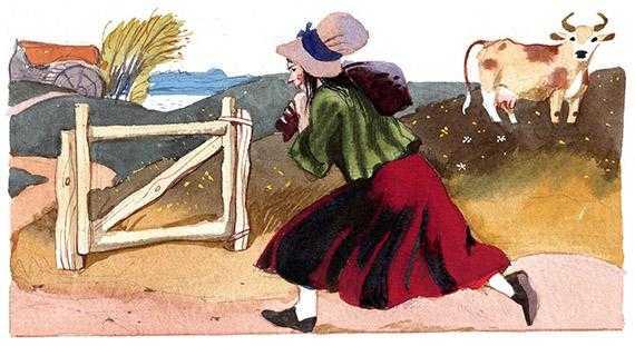 Кожаный мешок - английская сказка