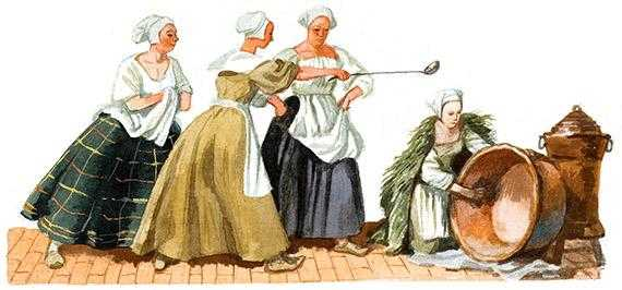 Моховушка - английская сказка