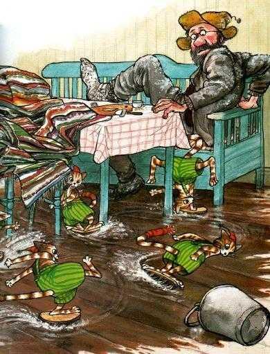 Петсон и Финдус: Рождество в домике Петсона - Нурдквист С.
