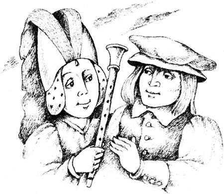 Серебряная дудочка Маккримонса - шотландская сказка