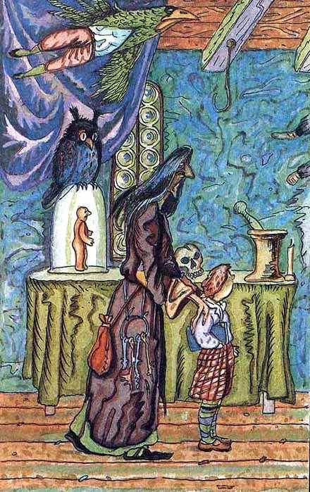 Тень - шотландская сказка