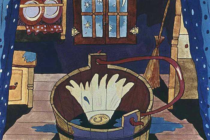 Воду заперли - английская сказка