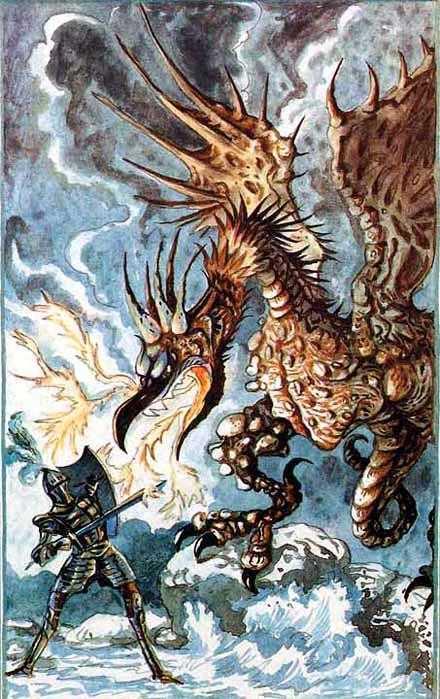 Чудовище Уиндел-стоунского ущелья - английская сказка