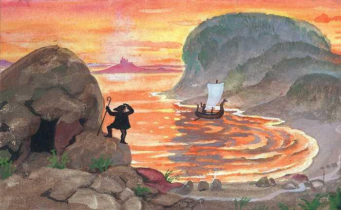 Карликов камень - шотландская сказка