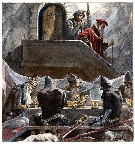 Пещера короля Артура - английская сказка