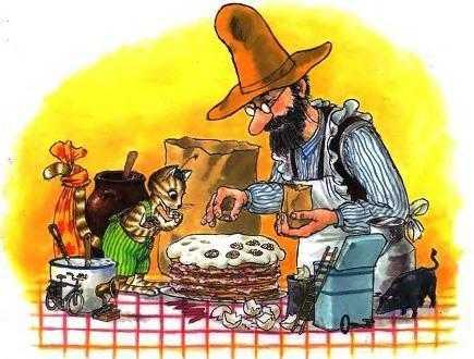 Петсон и Финдус: Именинный пирог - Нурдквист С.