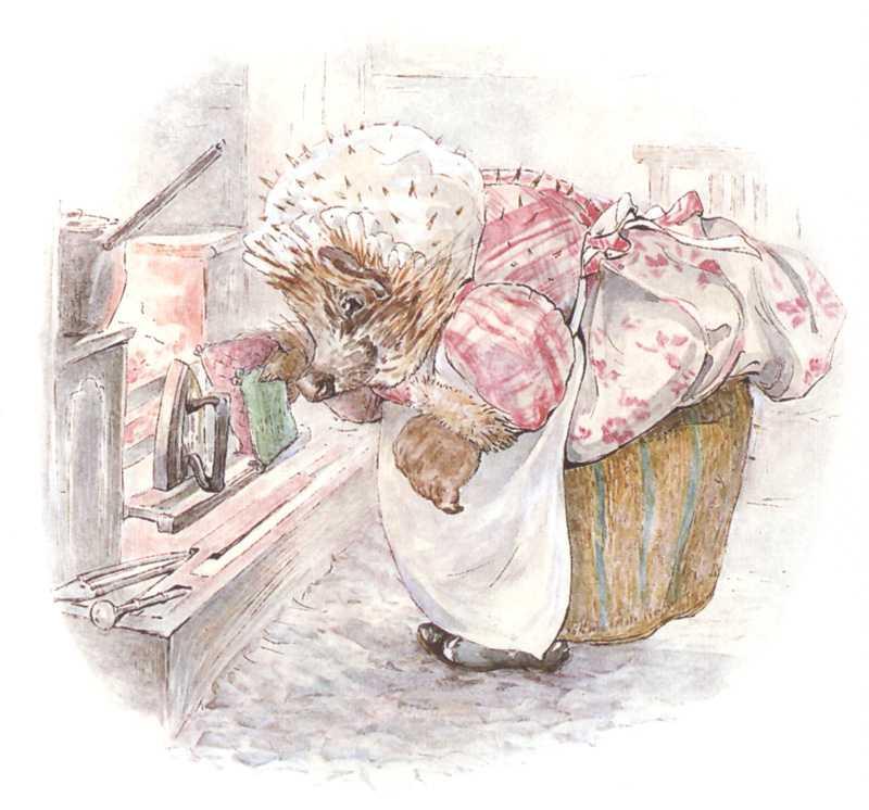 Повесть про Миссис Тигги-Мигл - Поттер Б.