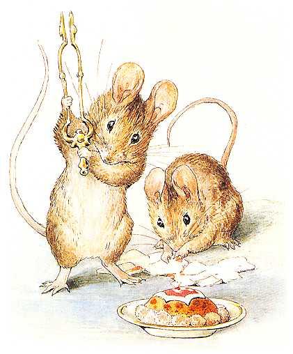 Повесть про двух вредных мышей - Поттер Б.