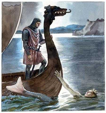 Русалка из Колонсея - шотландская сказка