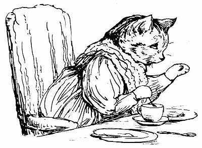 Сказка о пироге и форме для выпечки - Поттер Б.