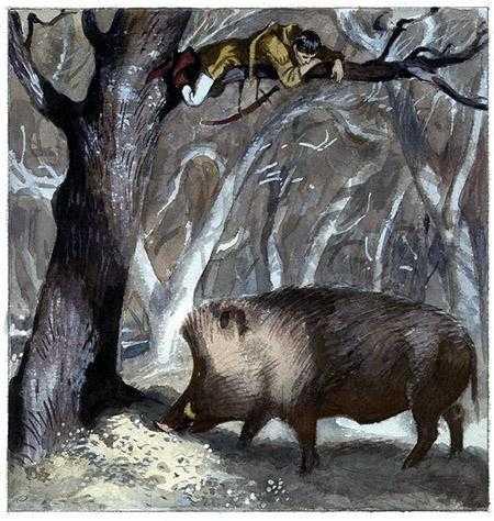 Юный Поллард и окландский вепрь - английская сказка