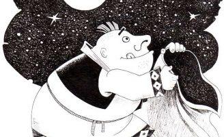 Алмазные звезды — Малышев М.И. Сказка про мужика и жадного барина.