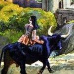 Черный бык из Норровея - британская сказка. Сказка про трех принцесс.