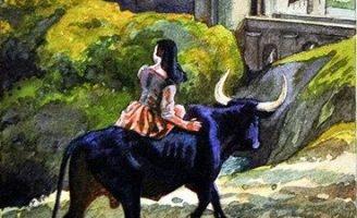 Черный бык из Норровея — британская сказка. Сказка про трех принцесс. 0 (0)